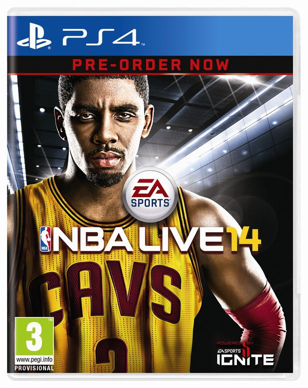 Kyrie Irving on NBA Live 14
